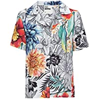 Camisa Manga Curta Estampada   MUMO   Multicor
