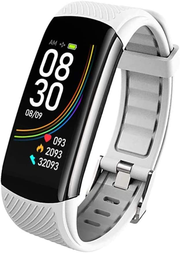 YXYOL Smart Watch Fitness Tracker, Pulsera Deportiva con función de monitorización de la frecuencia cardíaca, presión Arterial, frecuencia cardíaca
