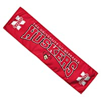 "NCAA University of Nebraska Cooling Towel, 8"" x 30"""