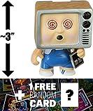 Teevee Stevie: ~3'' Garbage Pail Kids x Funko Mystery Minis Mini-Figure Series #1 + 1 FREE GPK Trading Card/Sticker Bundle [55387]