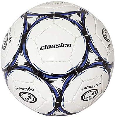 OPTIMUM Classico Balón de fútbol en Negro/Azul, Tamaño 3, Niños ...
