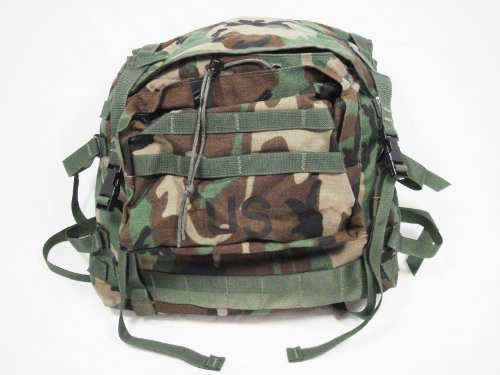 Official US Military Surplus Molle II Main Pack Backpack Rucksack Woodland, Outdoor Stuffs