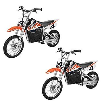 Amazon.com: MRT SUPPLY - Juego de 2 motos eléctricas de ...