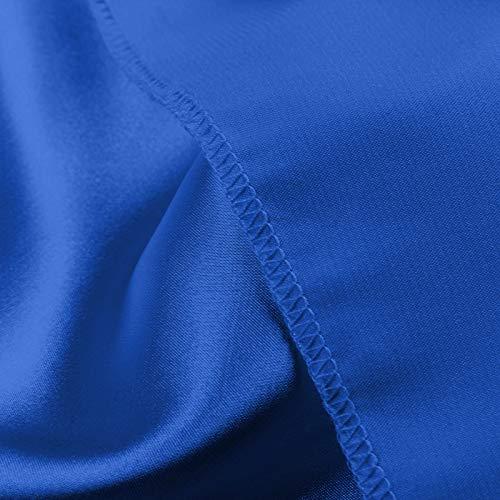 BiuBuy Women's Sleepwear 3pcs Floral Lace Trim Satin Cami Sexy Pajama Set
