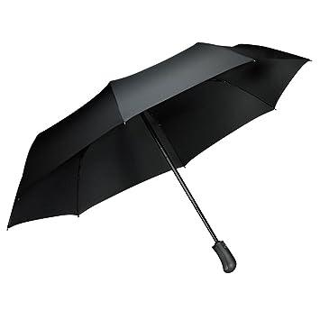 design de qualité 948c2 e86d5 Parapluie pliant coupe-vent, Tquens Compact et pliable avec 41 Inch canopy  extra large, [One Hand Auto Open & Close] Parapluie solide pour voyage, ...