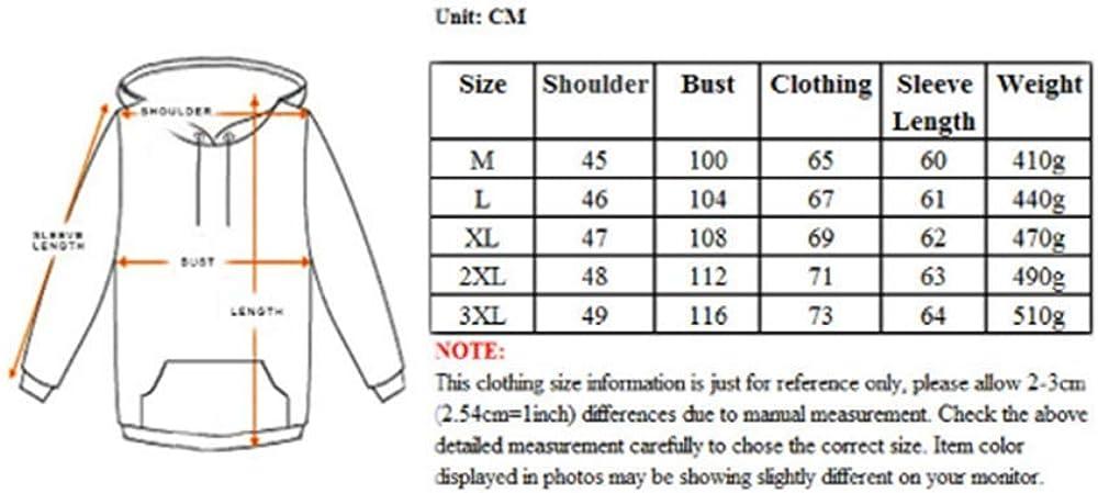 YUHUALI Original Paar Flut Marke mit Kapuze Tunnelzug 3D-Pullover drucken Drucken Sie 03