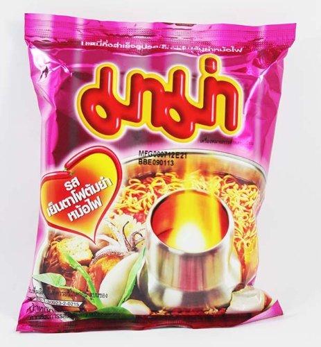 - Thai Mama Instant Noodles Yentafo Tom Yum Mohfai Flavour 60g - 6 Packs
