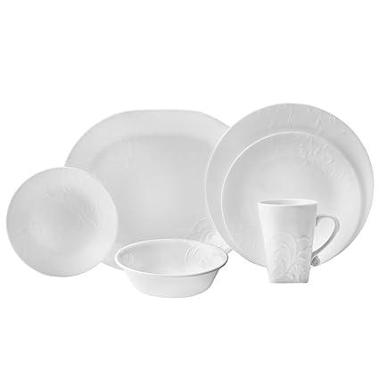 Corelle Boutique Cherish 42-pc Dinnerware Set  sc 1 st  Amazon.com & Amazon.com   Corelle Boutique Cherish 42-pc Dinnerware Set ...