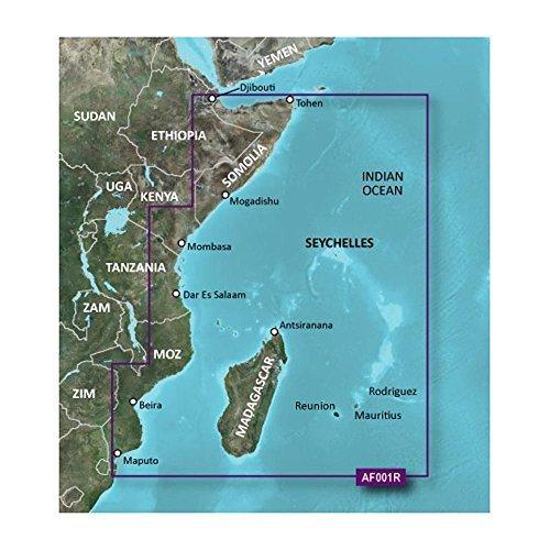 Garmin Bluechart G2 HXAF001R Eastern Africa Micro SD & SD - Detailed Map Cover by Sirimaya