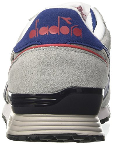 a Grigio Premium Grigio Blu Collo Unisex Sneaker Basso Grattacielo – Limoges Diadora Titan Adulto tFqwf1Btg