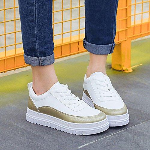 Beat Les Summer chaussures Street EU39 Couleur chaussures femmes CN39 blanc taille de épais à couleurs NAN fond trois UK6 choisir 03 14dqnXwX