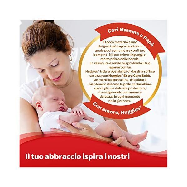 Huggies Extra Care Bebè Taglia 1 (2-5Kg), 4 Confezioni da 40 Pannolini, 3290 Gr 7