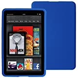 Skque Blue Silicone Skin Case Of Amazon Kindle Fire