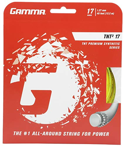 Gamma Sports TNT2 17g String - Yellow ()