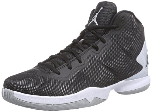 Nike Jordan Men's Jordan Super.Fly 4 Black/Black/Wlf Grey/Infrrd 23 Basketball Shoe 12 Men US by Jordan