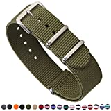 STYLELOVER superior Nylon Watch Straps are designed to give you the comfort and feel of a great strap while creating a new and refreshed look for your watch. Eliminating your existing scratched, generic, broken, worn, or ugly watch band or strap.The ...