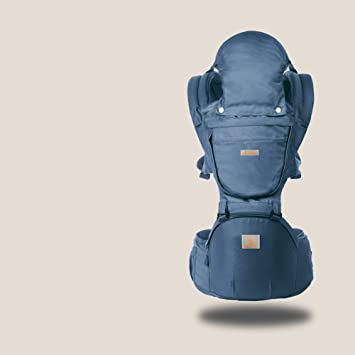 TINERS Portabebés multifunción con Asiento ergonómico Mochila ergonómica para bebés 0-36 Meses Four Seasons Holding Baby Artifact,Darkblue: Amazon.es: Hogar