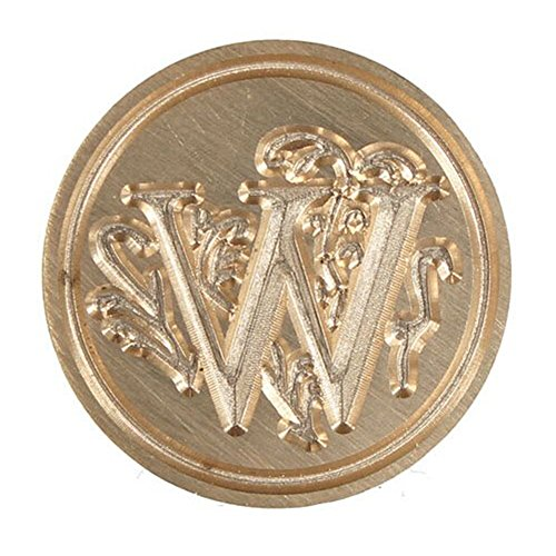 - Shuohu 1 Pc 26 Letter A-Z Alphabet Initial Flower Seal Wax Stamp Post - W*