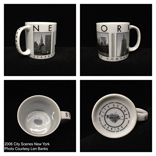 Starbucks New York City Scene Series Mini Mug Ornament 2005 (Starbucks City Mugs New York)
