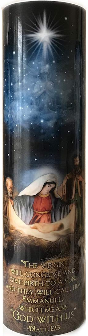 The Saints Collection Three Wisemen LED Candle with 6 Hour Timer