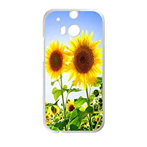 Happy sunflower Phone Case for HTC One M8