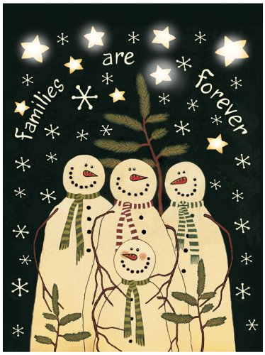 - Ohio Wholesale Radiance Lighted Snow Family Canvas Wall Art, from our Snowmen Collection