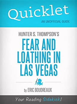 an analysis of hunter thompsons book fear and loathing in las vegas The result of the trip to las vegas became the 1972 book fear and loathing in las vegas analysis of the highest order with hunter, hunter s thompson is seen.