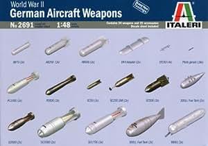 Italeri 2691S - Armas aéreas alemanas Segunda Guerra Mundial [Importado de Alemania]