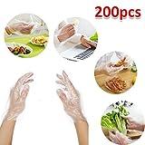 200pcs Disposable Gloves Garden Kitchen Restaurant