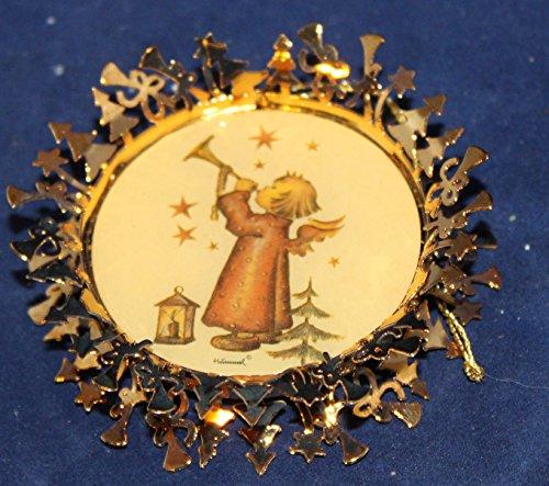 - Hummel Gold Christmas Ornament Collection - Little Gabriel