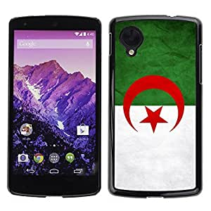 YOYO Slim PC / Aluminium Case Cover Armor Shell Portection //Algeriga Grunge Flag //LG Google Nexus 5 by icecream design