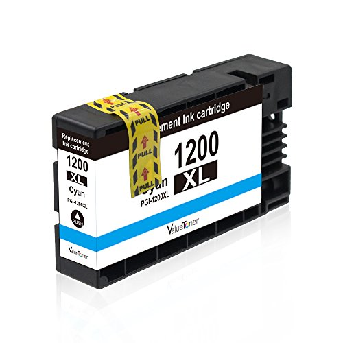 Valuetoner Replacement PGI-1200 XL 1200XL Compatible Ink Cartridge for Maxify MB2320 MB2020 MB2350 MB2050 MB2120 MB2720 Inkjet Printer, 5 Pack (2 Black, 1 Cyan, 1 Magenta, 1 Yellow) Photo #4