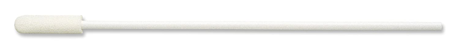 Case of 1000 1//4 Diameter x 7//8 Length Head Puritan 1616-PF Thermal Bonded Tip Foam Tipped Non-Sterile Applicators//Swabs with Polypropylene Shaft 6 Overall Length