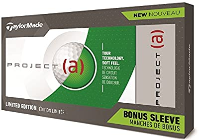 Taylor Made 2018 Project (A) Launch Golf Balls #1-#4 15-Ball Pack