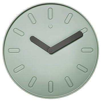 Ikea Asie Slipsten Horloge Murale Vert Amazon Fr Cuisine