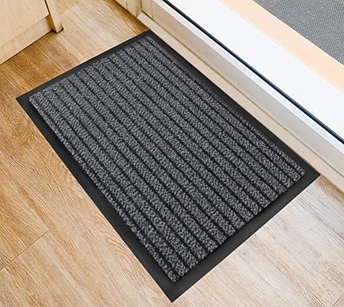 Doortex Ultimat Indoor Entrance Mat, Gray, Rectangular, 24