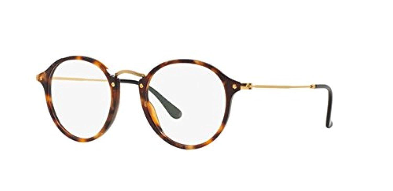 RB Mens RX2447V Eyeglasses Brown Havana 49mm /& Cleaning Kit Bundle