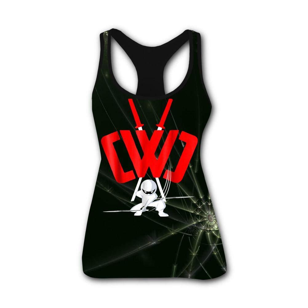 Amazon.com: BFBJFG Chad Wild Clay Ninja Womens Summer Vest ...
