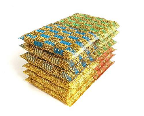 NiceGo Dish Wash Sponge, Multi-Use Heavy Duty Scrub for Dish Washing, Kitchen Sponge for Hard Surface Tools (Pack of 12)