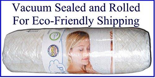 Cozycloud Bamboo Shredded Memory Foam Pillow Queen In The