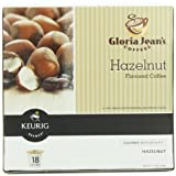 kohls coffee makers - Gloria Jean's Hazelnut Keurig K-Cups, 18 count