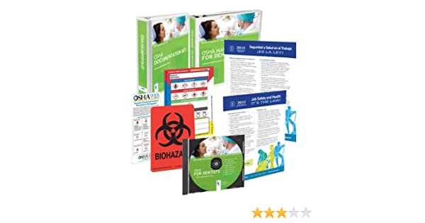 Amazon.com: 2020 OSHA Package for Dental Offices Including ...
