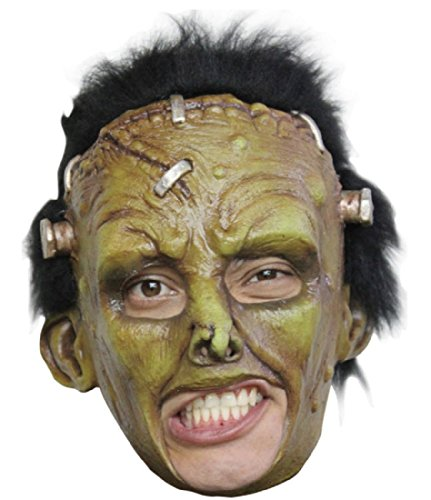 Franky Deluxe Chinless Mask Adult Accessory (Deluxe Frankie Mask)