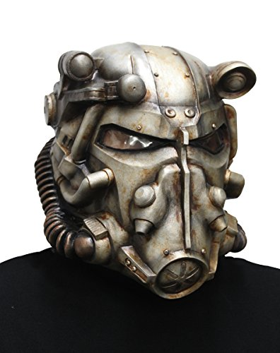 Fallout Power Armor Helmet for Adults Grey]()