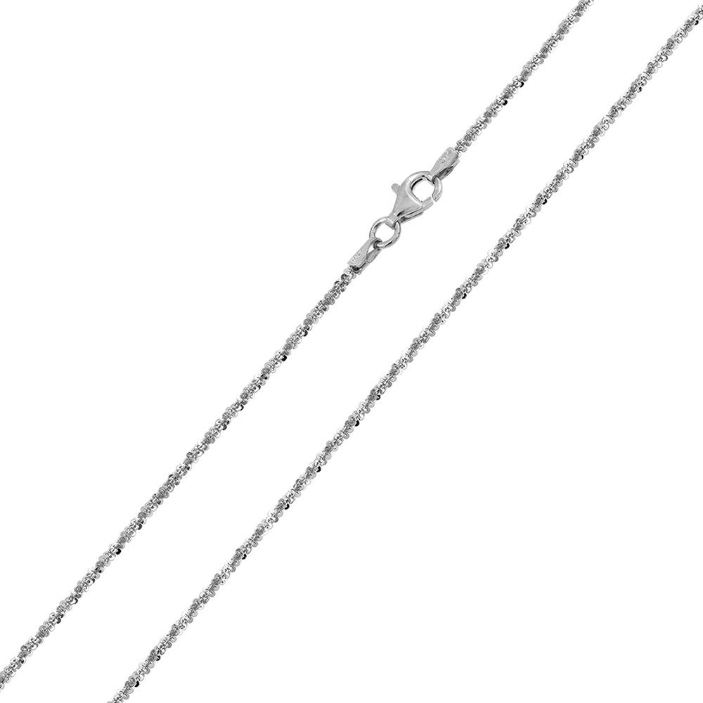 CloseoutWarehouse High Polished Sterling Silver Rock 025 Chain