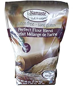 Namaste Foods, Gluten Free Perfect Flour Blend, 48-Ounce Bags (Pack of 6)