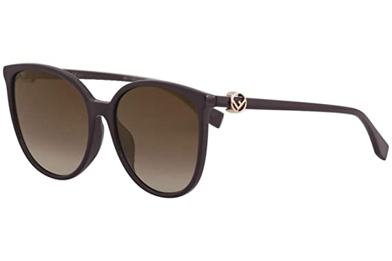 daaf7ead441 Fendi Women s FF0310FS FF 0310 F S 0T7JL Plum Fashion Square Sunglasses 58mm