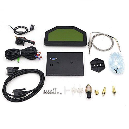 SINCO TECH 6.5 Inch LCD Race Car Dashboard Sensor Kit