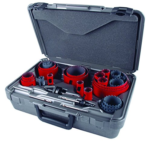 MK Morse MHSELE01 Hole Saw Electrician Kit, Mhs & Mhst, -