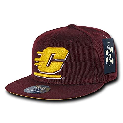 W Republic The Freshman, College Snapbacks (Central Michigan University, Maroon) Central Michigan University Baseball